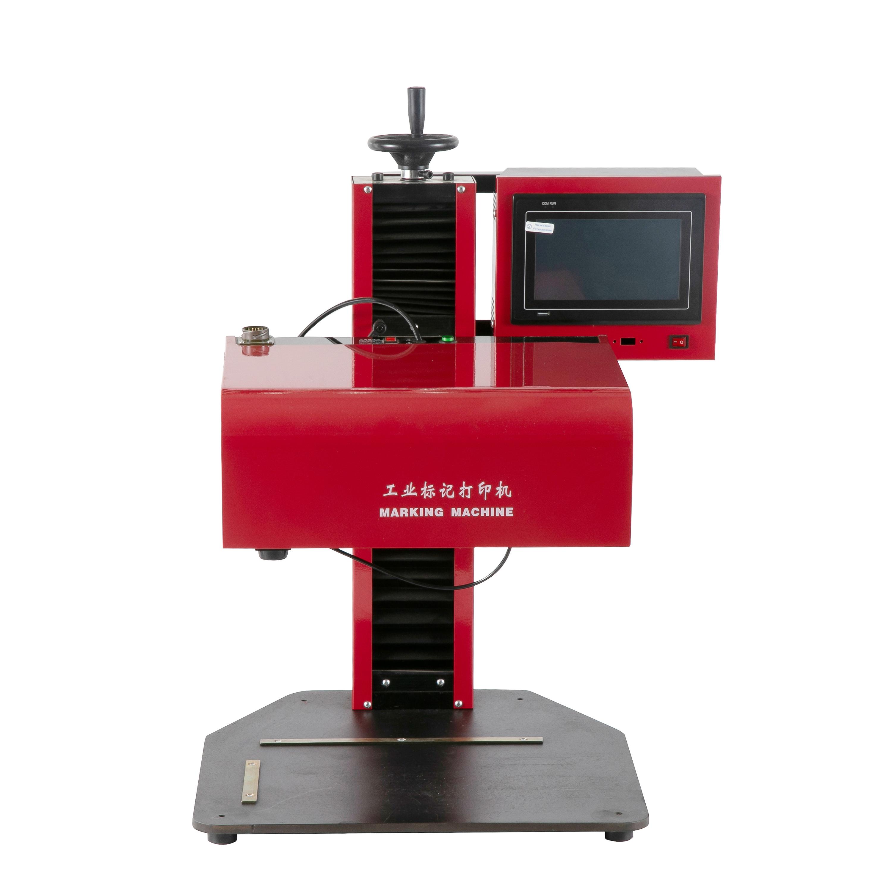 cnc system desktop cnc pneumatic dot peen marking machine for metal needle marking