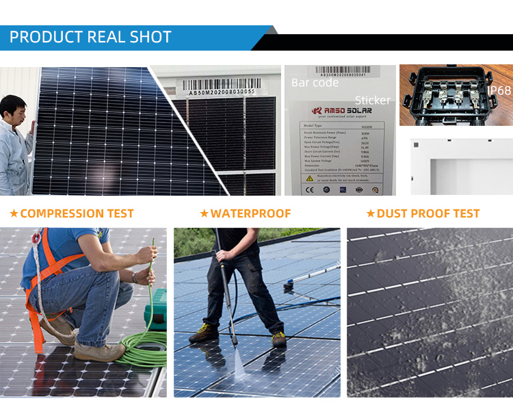 Price solar panel 360 watt solar panel 72 cells is black mono 360w solar panel for wholesale