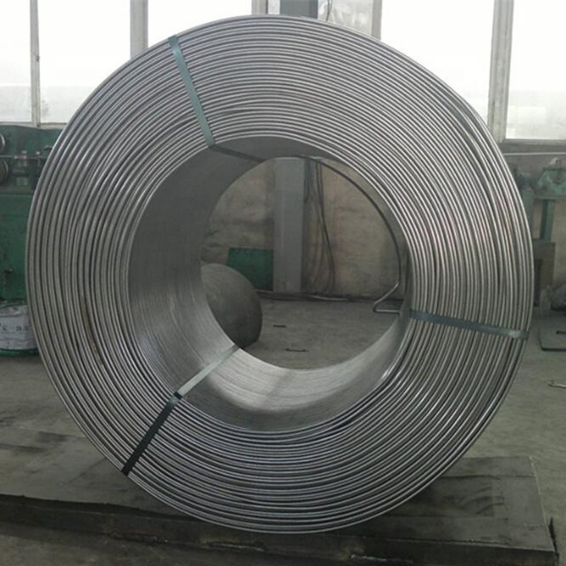 Supply High Purity Silica Wires/ Silicocalcium Pure Ferro Calcium Silicon