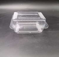 Clear PET Plastic Food Fruit snack Clamshell Blister Packaging Box