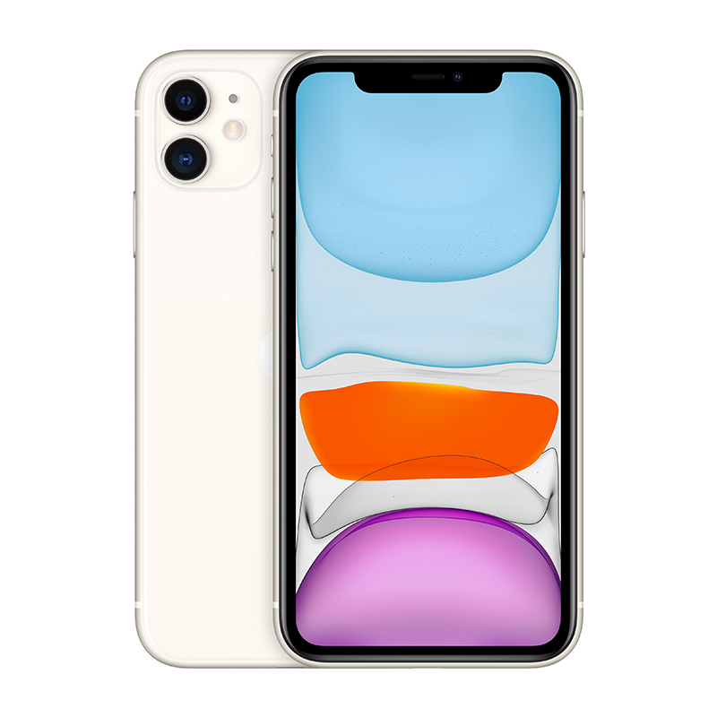New Chinese Version Dual Sim Card iPhone 11 6.1 inch Full OLED Display 4G LTE Dual-camera Smart Phone 64gb ROM A13