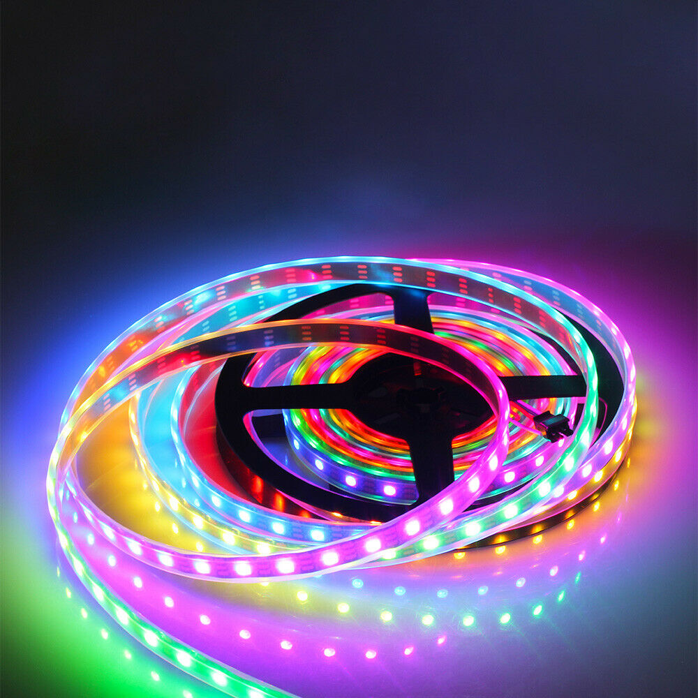 Low Price 5meters/roll DC12/24V 60leds/m RGB SMD5050 Led Strip