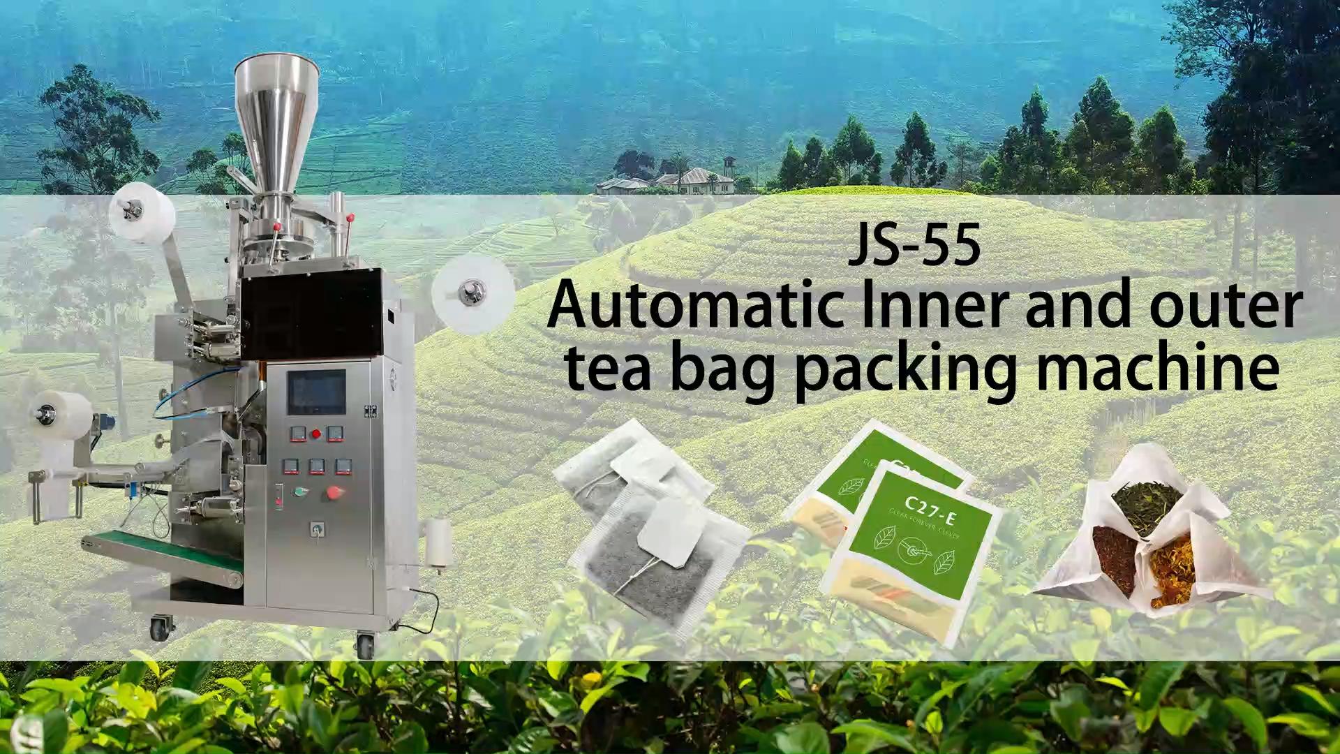 Yüksek hızlı tam otomatik fiyat küçük dip filtre kağıt çay poşeti paketleme makinesi için küçük iş üreticileri