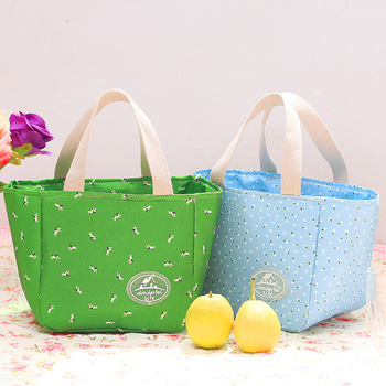 Polyester Insulated School Children Lunch Bag