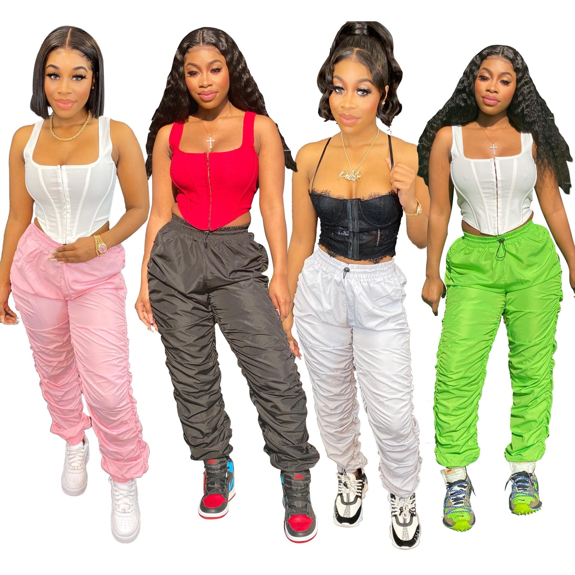 2020 Pantalon De Moda Las Mujeres De Pantalones Harem Qzbaoshu Deporte Legging Impermeable Apilado Pantalones Buy Pantalones Apilados Pantalones De Moda Para Mujer Pantalones Harem Para Mujer Product On Alibaba Com