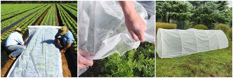 الزراعية pp محبوكة الأقمشة غير المنسوجة الزراعة غطاء الأرض