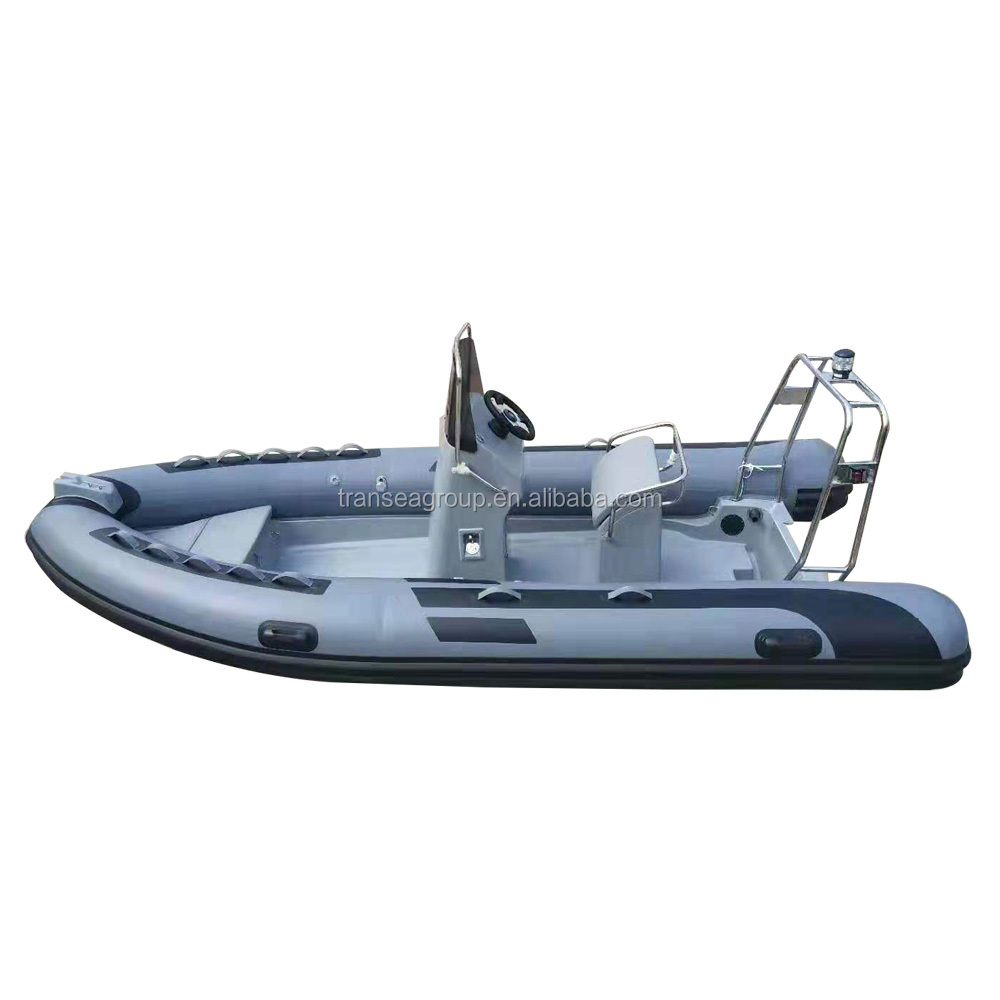 CE Certificate China rib inflatable boat hypalon inflatable fishing boat