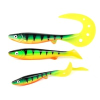 Peche pesca isca artificial 17cm/35g T-tial Soft Shad Fishing Lures Soft Baits Wobblers Fishing Tackle wobbler leurre souple