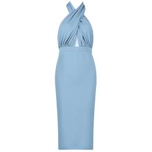 Лето 2020, облегающее платье, женские вечерние платья знаменитостей для ночного клуба, перекрещивание, новое подиумное сексуальное Бандажное...(Китай)