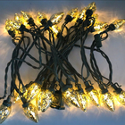 UL Listed Mercury Gold C7 Led Christmas Light Bulb Waterproof Xmas String Lights Outdoor For Christmas Tree Party Home