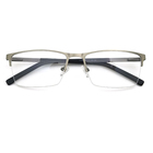 Korean design metal Glasses Man Eye Optical High End Laser Eyewear Eyeglasses Frame
