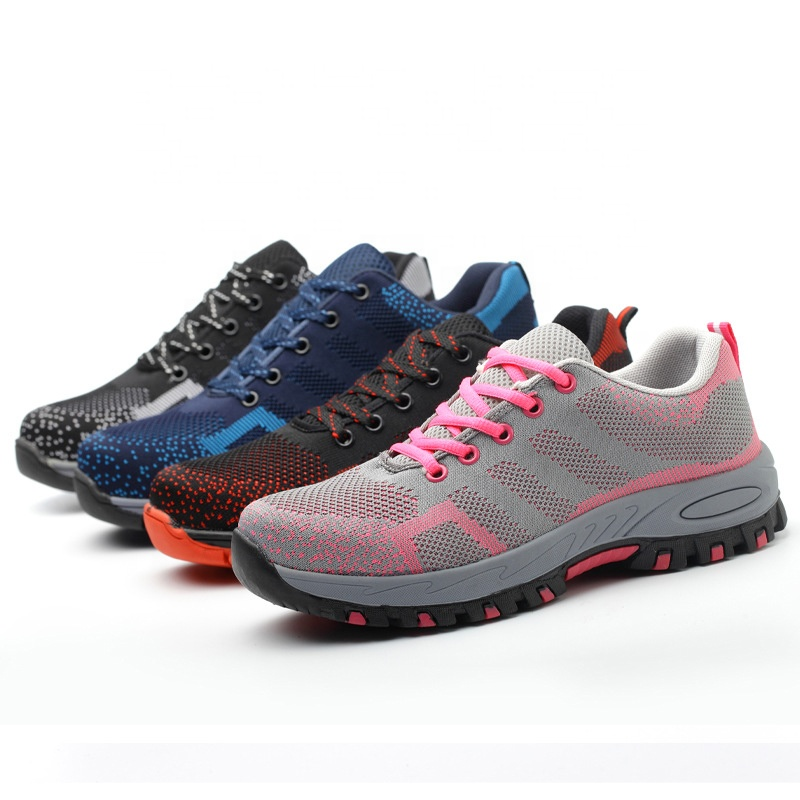 latest new images of best loved Four Seasons Breathable Colorful Indestructible Steel Toe Cap Men ...