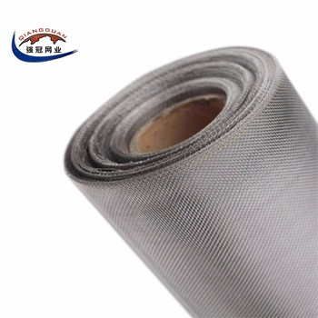 High quality lowes plain weave 316 ss wire mesh