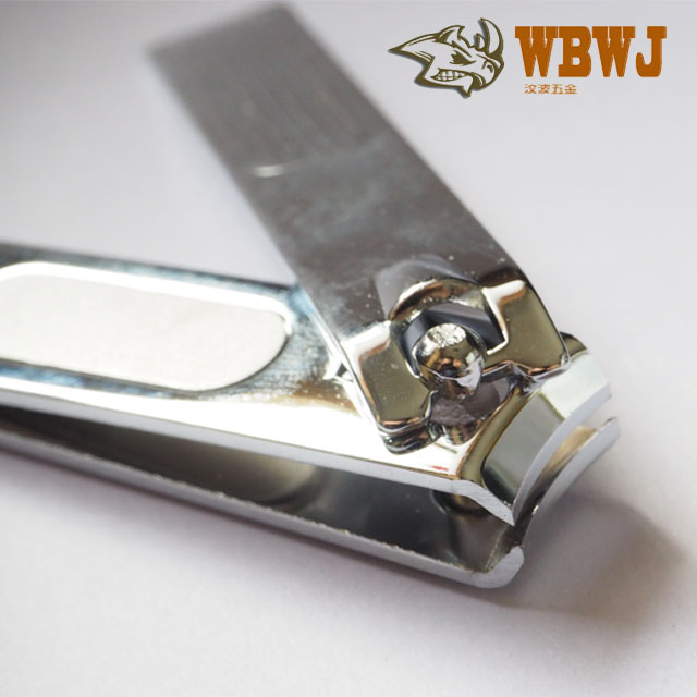 manicure belt frosted sheet household high carbon steel material sharp cutting mouth chrome plated Nail Clipper