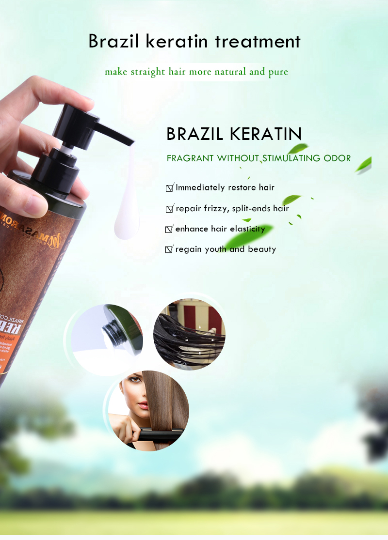 private label argan oil brazilian keratin hair permanent straightening cream keratin hair treatment price