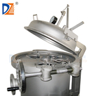 Stainless steel micro filtration bag filter housing for liquid machine for coconut oil