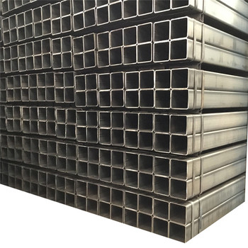 High quality 20 40 80 inch ASTM ERW welded square tube carbon steel pipe