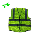 Top fashion 100% polyester reflective safety vest