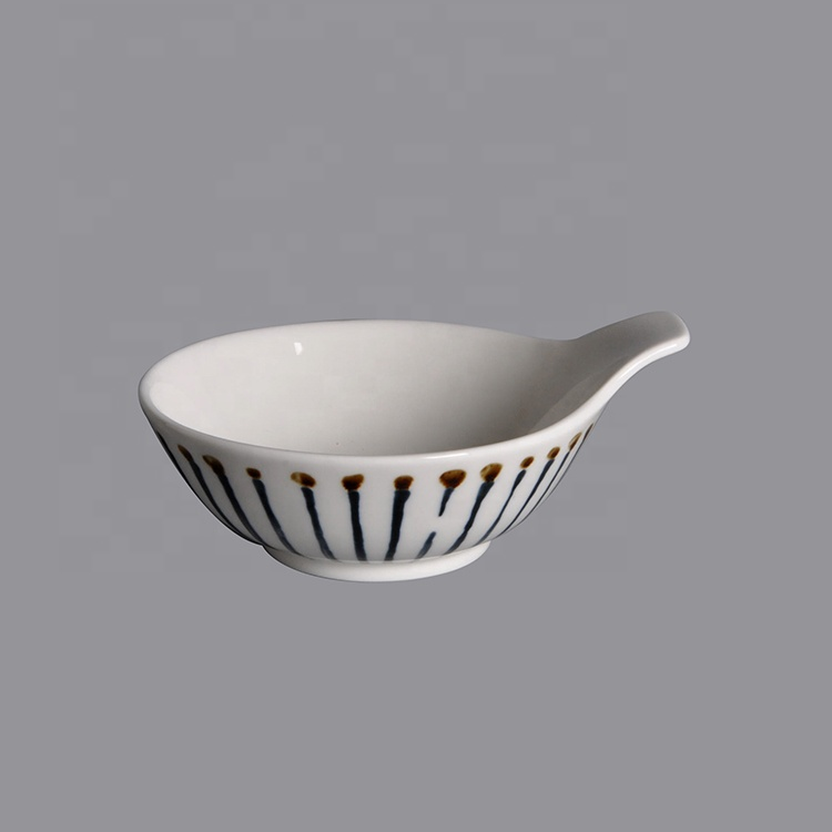 salad bowl with handle