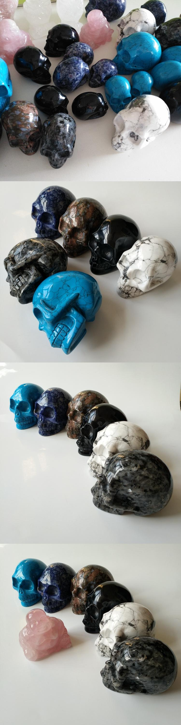 Wedding decoration souvenirs skulls crystal