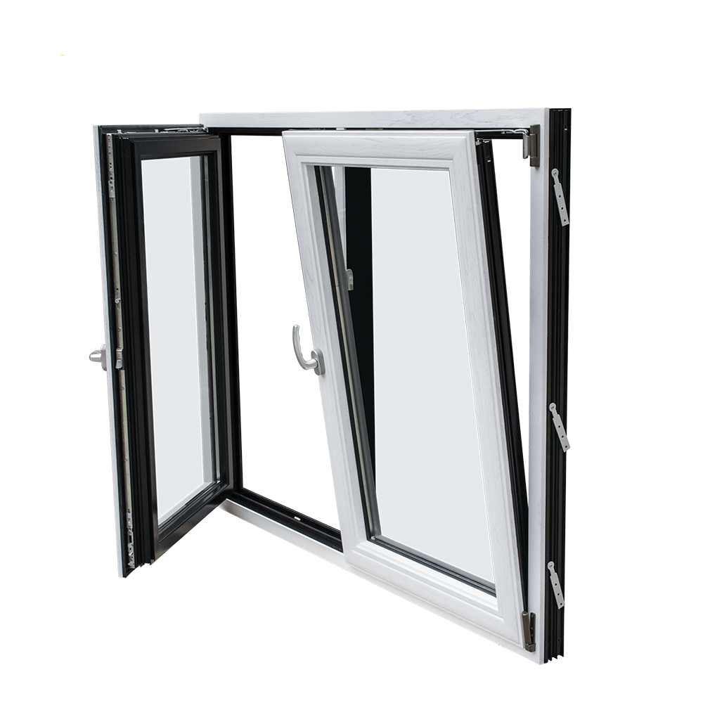 Australian standard energy saving aluminium tilt and turn window, tilt open window AS2047