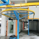 powder coating line spray Hot sale high quality / powder coating line spraying machine burner