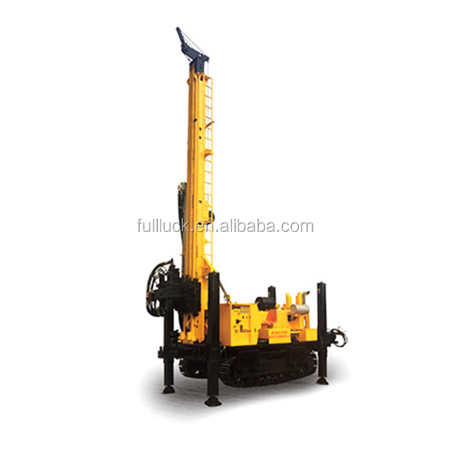 1000m water well Drilling Rig with 132 kw engine supply by fullwon