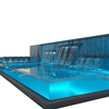 PG Luxury Design Underwater Window Panel One Time Cast No Yellowing Acrylic Sheet for Swimming Pool