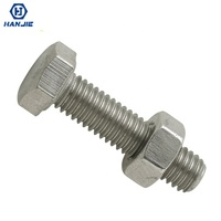 Stainless Steel Full Thread Bolt with Fine Pitch Hex Screw