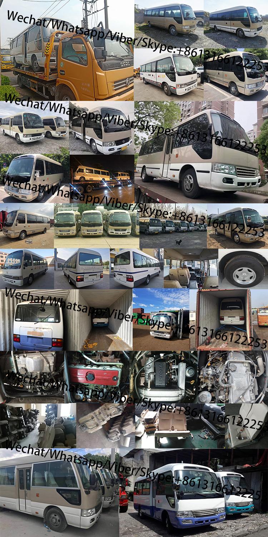 Original japão usado toyota coaster mini ônibus para venda toyota coaster ônibus de passageiros
