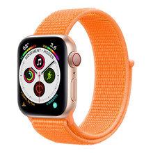 Ремешок для наручных часов Apple Watch серии 3/2/1 38 мм 42 мм нейлон сменный ремешок Спортивные петли для наручных часов iwatch серии 4 5 40 мм 44 дропшиппи...(Китай)