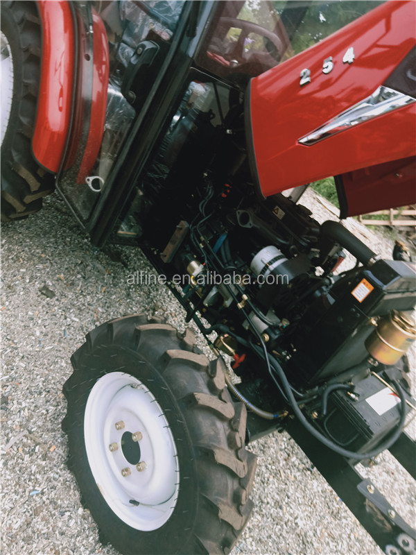New design good performance tractor 25 hp with 4 wheel drive