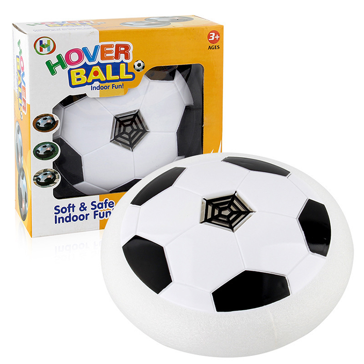 2019 new hot sale hover ball soft safe flashing air suspension soccer <strong>football</strong>