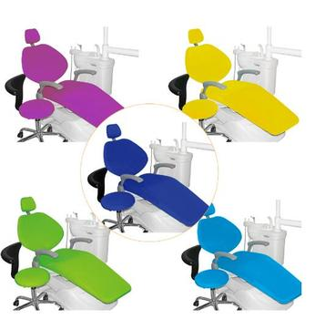 Hygienic Nonwovens & Waterproof PU Material 7 Colors Optional Affordable Protective Dental Chair Cover