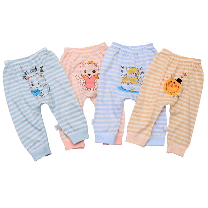 Wholesale baby clothes high quality baby PP pants knitting baby Harem Pants in spring and summer 2020