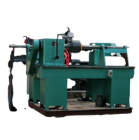 Used small aluminum metal manual spinning forming machine