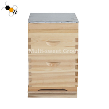 Best seller 2 layer 10 Frame wooden bee hives for sale