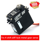 Traxxasrc TRX-4 shift gear servos DS096MG RC Model car option parts metal gear diff lock replace 2065 water proof