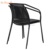 European outside cafe contemporary patio metal mesh dining chairs(accept customized)