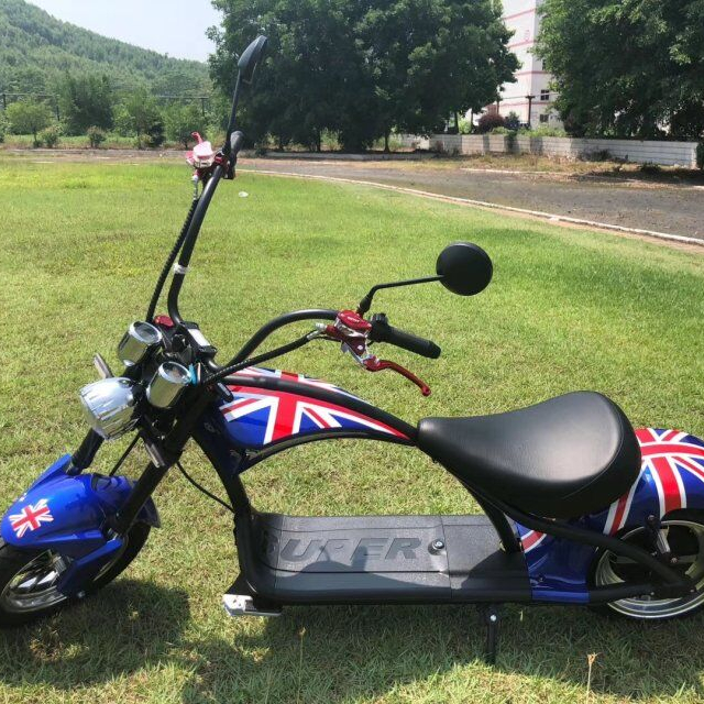 europe warehouse stock citycoco scooter 2000w big wheel electric scooter 2000w 60V 20AH