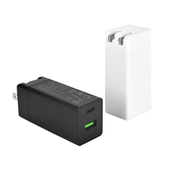 pd charger 30w 2 USB ports TYPE A and C fast charger qc 3.0 for mobile phone notebook ipad and UL CE FCC RCM listed