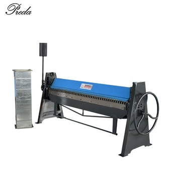 TDF duct making machine 8 feet length plate folding machine manual press brake for sale