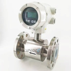 Customizable Flange Portable Ultrasonic Magnetic Inductive Flow Meter