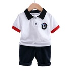 New style sellers selling cheap clothes wholesale imported baby boy children's clothing set