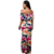 Hot Sale Vintage Ruffle Plain Floral Printed Off Shoulder Bodycon Long Party Maxi Dresses Women