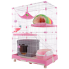Foldable indoor wire cat dog cage