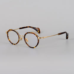 2021 Business Titanium Eyewear Acetate Spectacle F