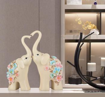 table decoration wedding return gift lucky elephant luxury wedding favors