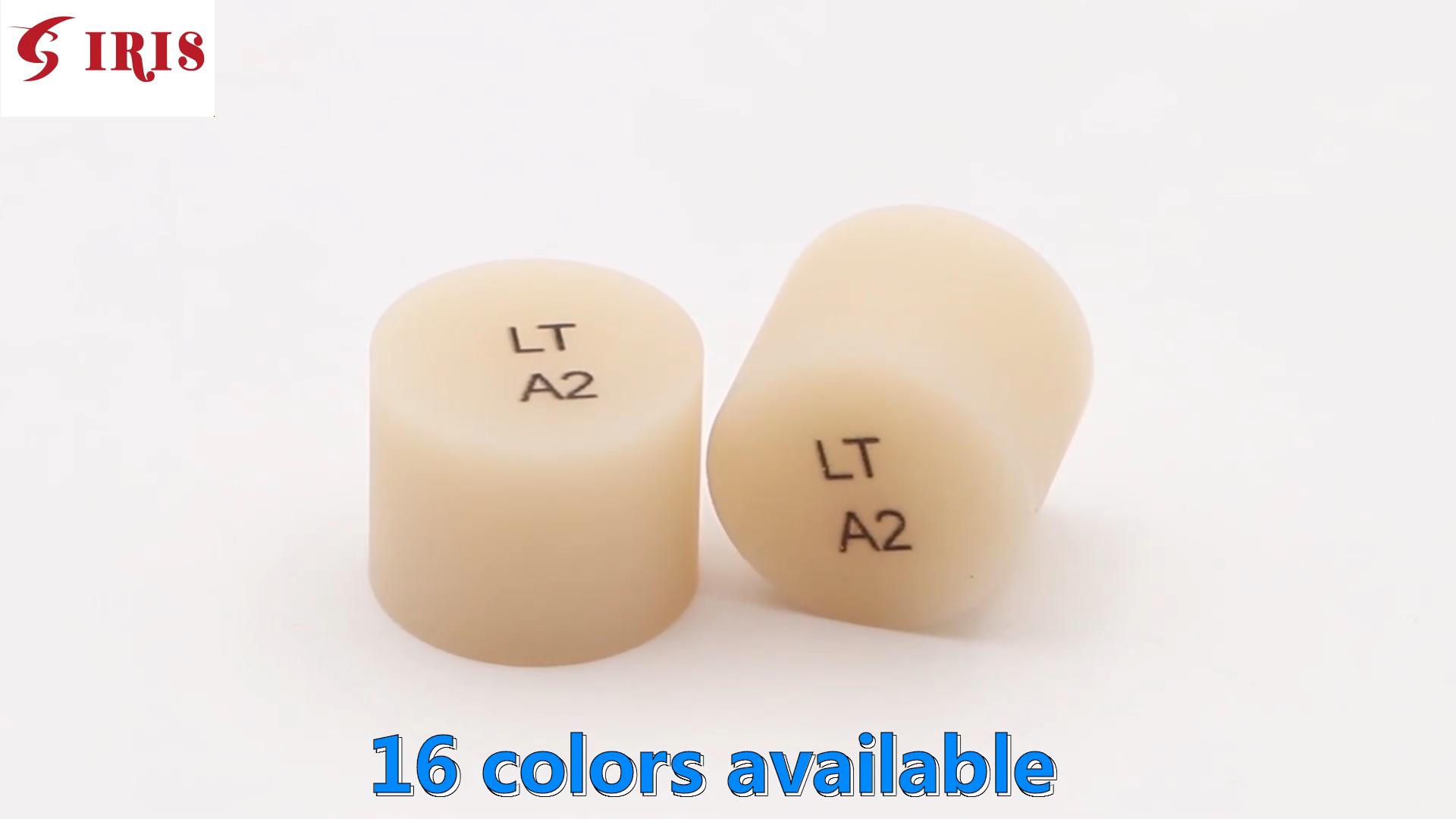 Appareil dentaire en lithium, aiguilles de pression, technologie IPS