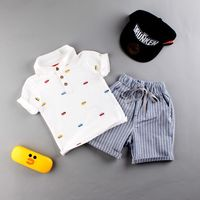 summer newborn toddlers children kids clothes sets t-shirts and shorts for boys